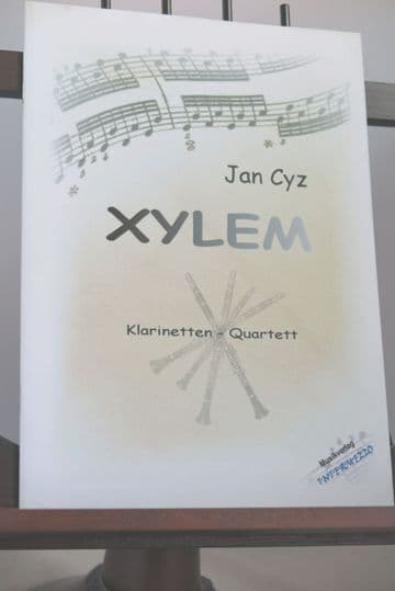 Cyz J - Xylem for Clarinet Quartet